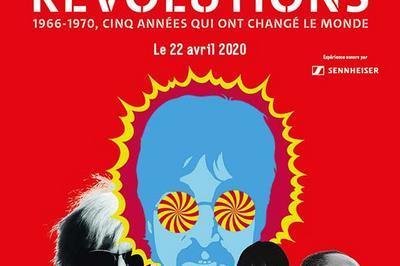 Revolutions - 1966-1970-Billet Open à Paris 19ème