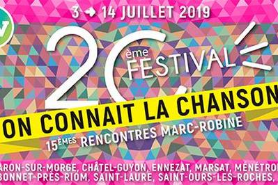 Rencontres Marc Robine 2019 à Riom
