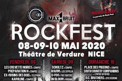 Rock Fest 2020 - 1 Max De Bruit à Nice