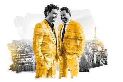Rolando Villazon et Ildar Abdrazakov à Paris 8ème