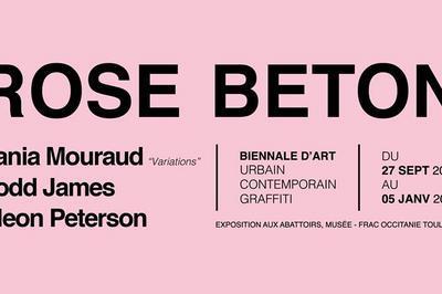 Rose Béton - Biennale d'art urbain à Toulouse