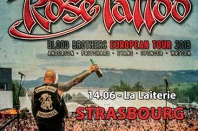 Rose Tattoo + Guest à Strasbourg
