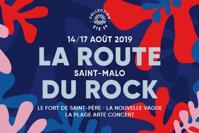 Route Du Rock Collection Ete Samedi à Saint Pere