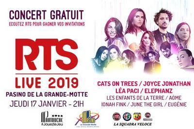 Concert Gratuit Rts Live 2019 à La Grande Motte
