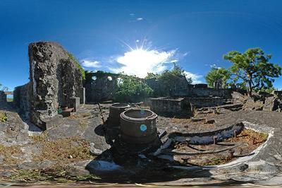 Ruines De L'usine à Sucre : Lecture Du Site Industriel Et Histoire Du Bâtiment à Saint Gilles Les Hauts