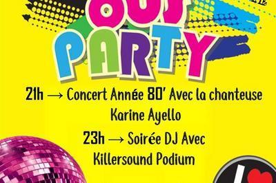 80's Party à Dax