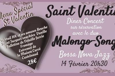 Saint Valentin Diner/Concert à Sarlat la Caneda