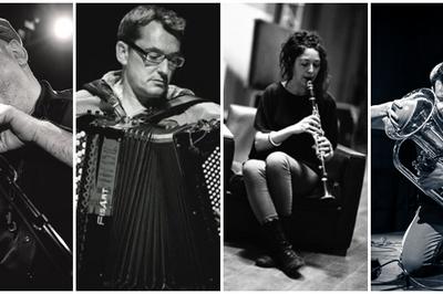 Christophe Monniot / Didier Ithursarry / Elodie Pasquier / Aloïs Benoit à Perpignan