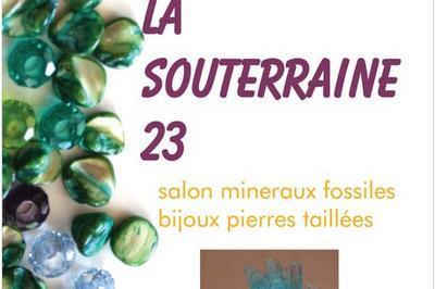 Salon minéraux fossiles bijoux gemmes à La Souterraine