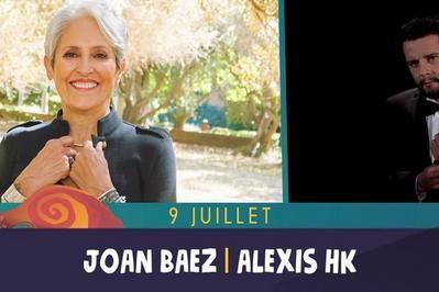 Joan Baez, Alexis HK à Saint Malo du Bois
