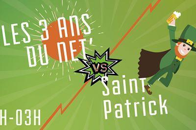 Saint Patrick vs 3 ans du Network à Amiens