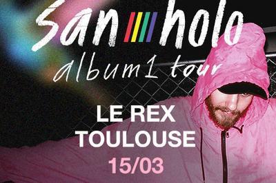 San Holo - album1 tour à Toulouse