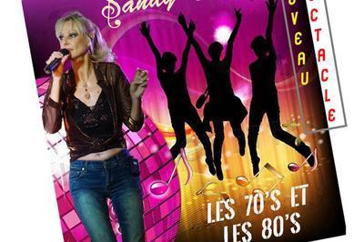 Sandy chante les 70's et les 80's à Le Cannet