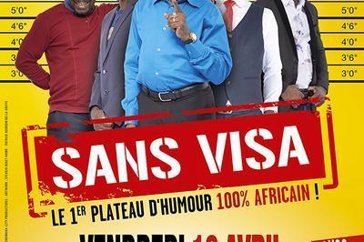 Sans Visa : 1er Plateau D'humour 100% Africain À Nantes !