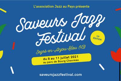 Saveurs Jazz Festival 2021 pass 1 jour à Segre