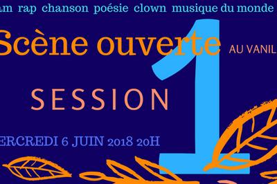 Scène ouverte au Vanilla Café Session 2 à Le Pre saint Gervais