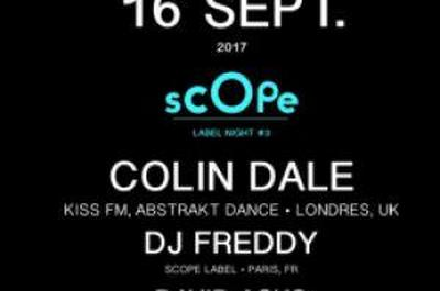 Scope Label Night #3 à Paris 11ème