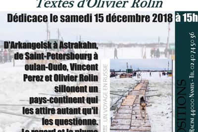 Dédicaces de Vincent Perez à Nantes