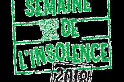 Semaine de l'Insolence 2018