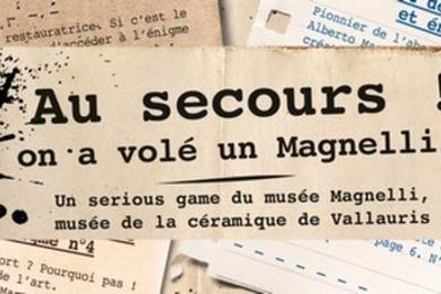 Serious Game Au Secours, On A Volé Un Magnelli ! à Vallauris