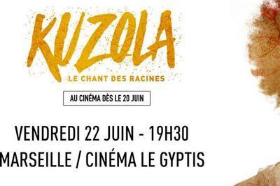 Show-case Lucia de Carvahlo et projection de Kuzola à Marseille