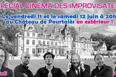 Show spécial cinéma des Improvisateurs à Strasbourg
