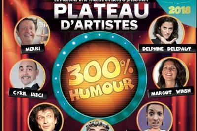 Soirée 300% Humour au Moustier à Thorigny sur Marne