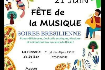 Soirée Brésilienne à Marseille