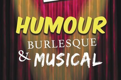 Soirée cabaret burlesque et musical à Perpignan