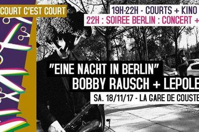 Soiree Court C'est Court : Projections, Bobby Rausch, Lepole à Maubec