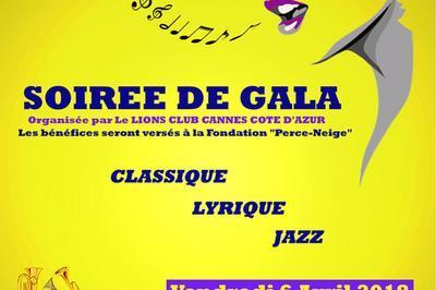 Soiree De Gala à Cannes