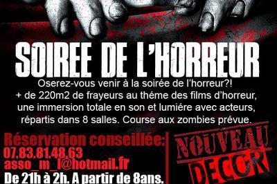 Soirée de l'horreur - 4éme édition - Tours