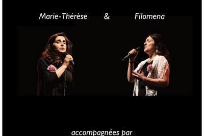 Soirée Fado : Filoména et Marie-Thérèse à Thorigny sur Marne