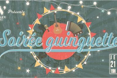 Soirée Guinguette spéciale : fête de la musique à Saumur