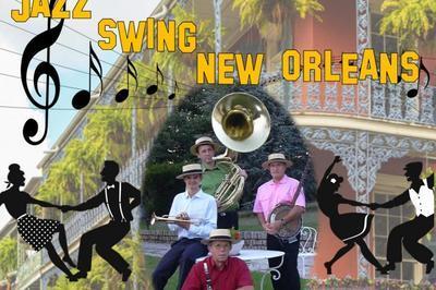 Soirée  jazz  swing  New Orléans  au brankignols à Saint Etienne