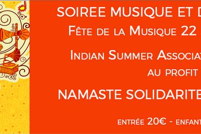 Soirée musique et danse indienne Namasté à Biot