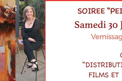 Soirée Peinture et Cinéma à Biot