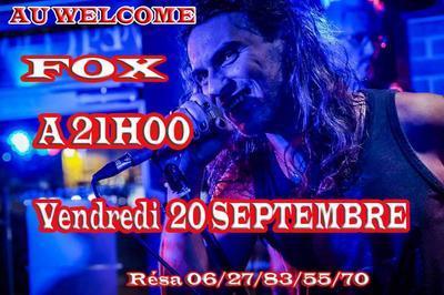 Soiree Rock avec Fox à Vallauris