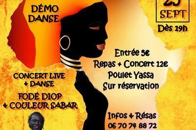 Soirée Sud France Sénégal à Montpellier