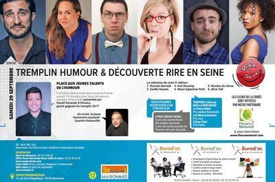 Soirée tremplin & découverte Rire en Seine à Maromme