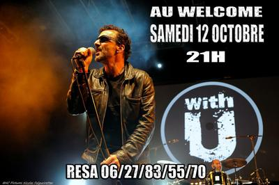 Soiree Tribute to U2 avec With U à Antibes