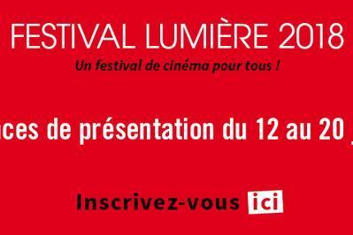 Soirées de présentation du festival Lumière 2018 à Lyon