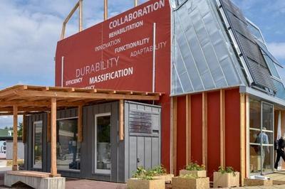 Solar Decathlon : Exemple De Rénovation Intelligente D'une Maison De Ville Ancienne à Amiens