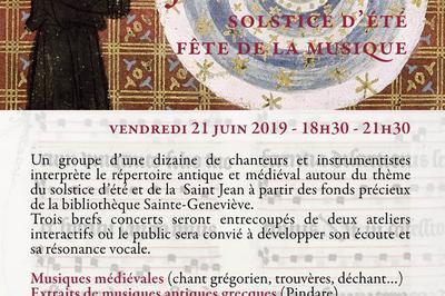 Solem Justiciae : Solstice D'été à Paris 5ème
