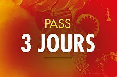 Solidays 2020 - Pass 3 Jours 102 à Paris 16ème