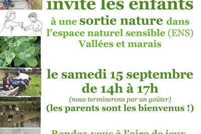 Sortie Nature Pour Les Enfants Dans L'espace Naturel Sensible Vallées Et Marais à Bretoncelles