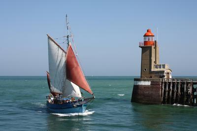 Sorties En Mer à Bord D'un Vieux Gréement à Fecamp