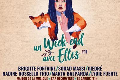 Souad Massi + Nadine Rosselo à Le Garric