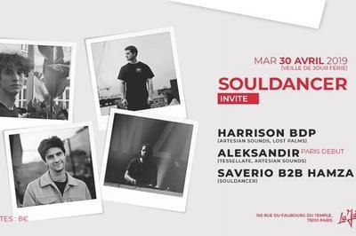 Souldancer Invite: Harrison BDP, Aleksandir, Saverio & Hamza à Paris 10ème