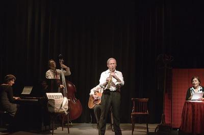 Souvenirs de Bego Jazz et café-théâtre avec les HotFour à Grenoble